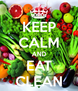 How about we keep calm and eat SENSIBLY?